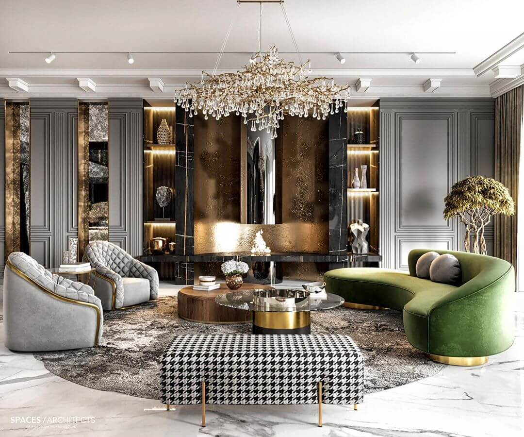Phong cách nội thất Luxury 1