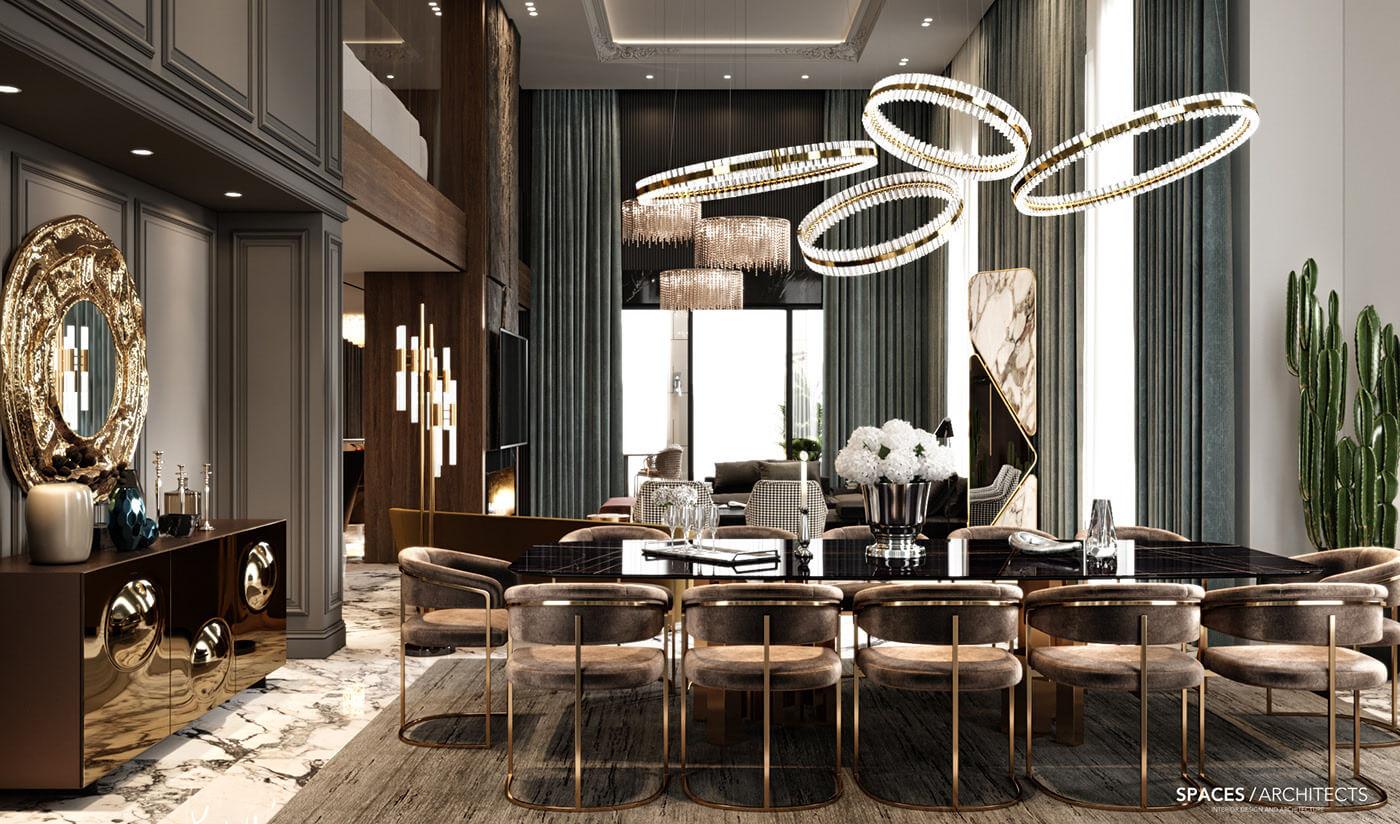 Phong cách nội thất Luxury 2