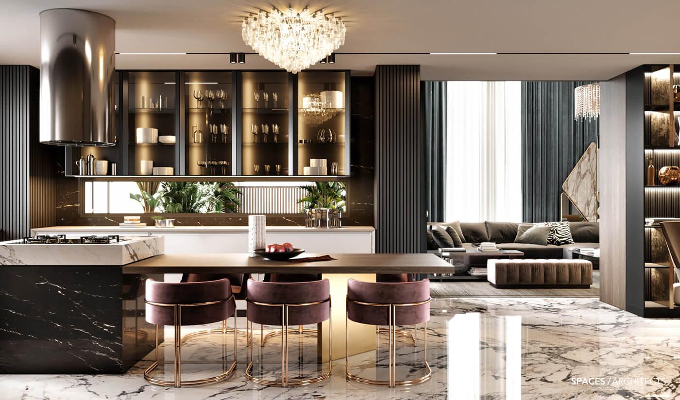 Phong cách nội thất Luxury 3