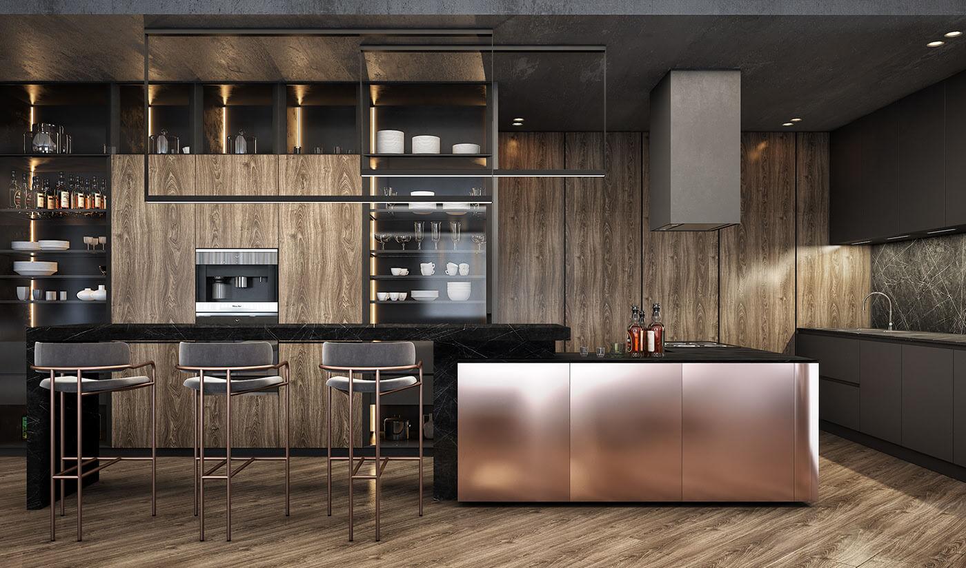 Phong cách nội thất Luxury 5