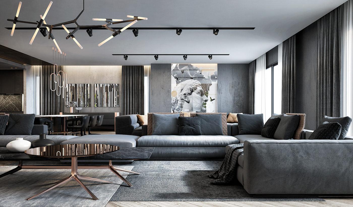 Phong cách nội thất Luxury 6
