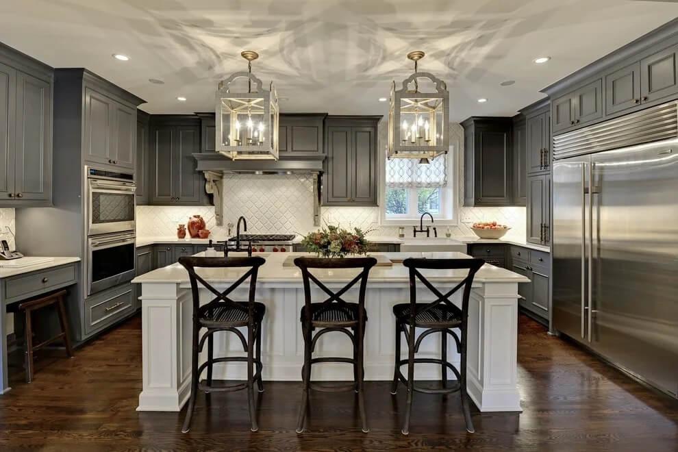 Thiết kế nhà bếp tân cổ điển 1
