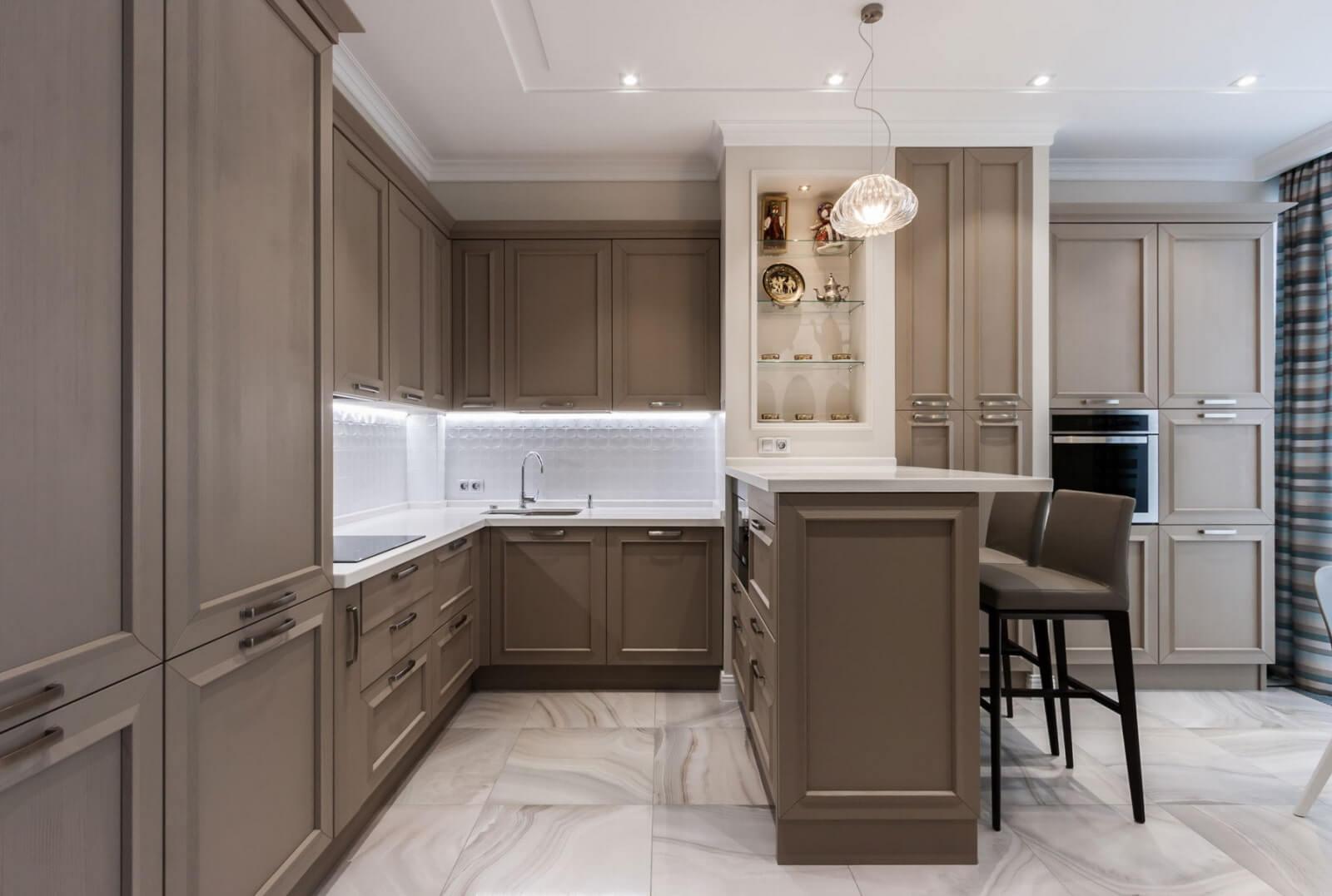 Thiết kế nhà bếp tân cổ điển 2