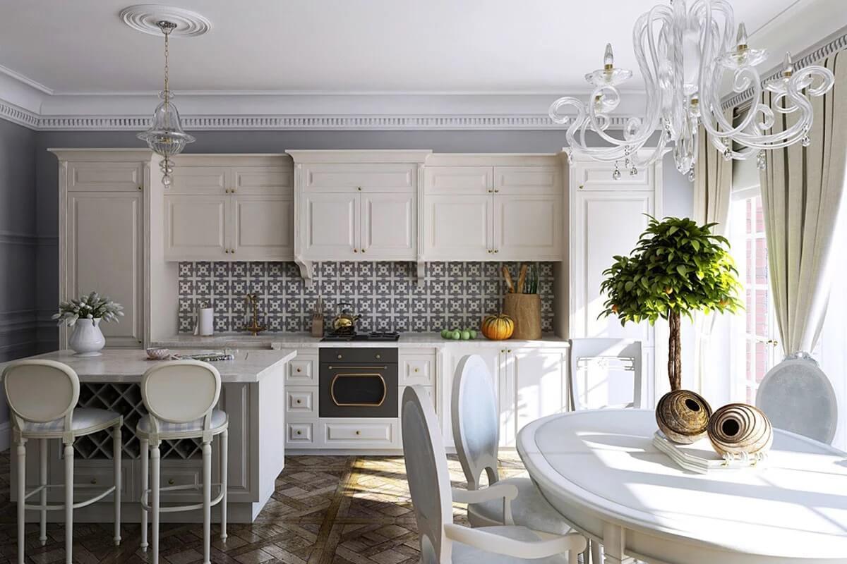 Thiết kế nhà bếp tân cổ điển 3