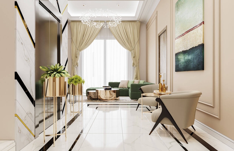 Thiết kế nội thất biệt thự Tân Cổ Điển 13
