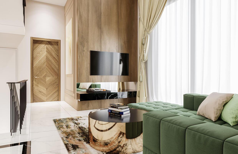 Thiết kế nội thất biệt thự Tân Cổ Điển 14