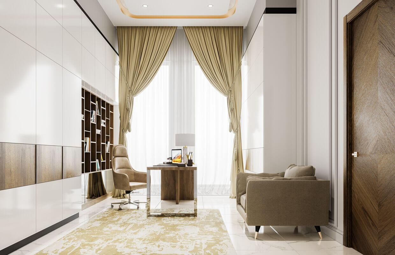 Thiết kế nội thất biệt thự Tân Cổ Điển 16