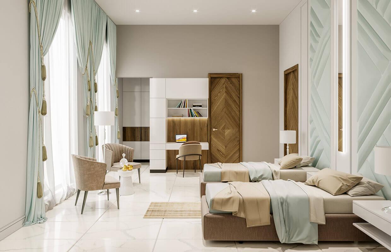 Thiết kế nội thất biệt thự Tân Cổ Điển 18