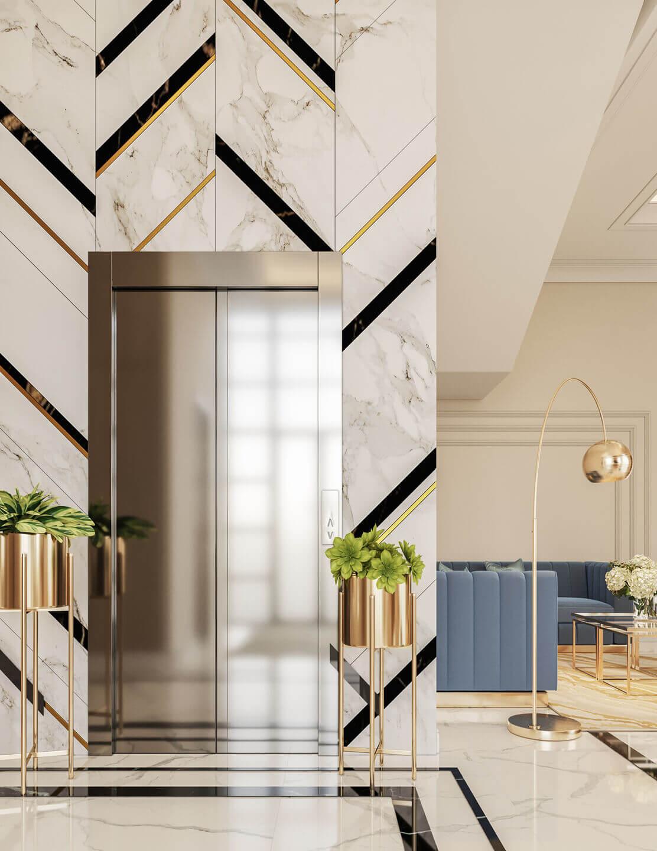 Thiết kế nội thất biệt thự Tân Cổ Điển 9