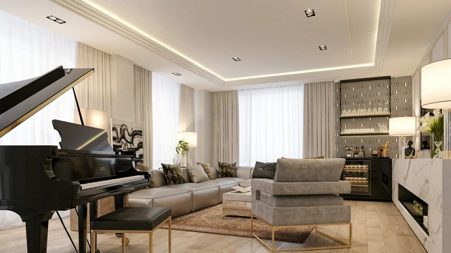 Thiết kế nội thất cao cấp 1