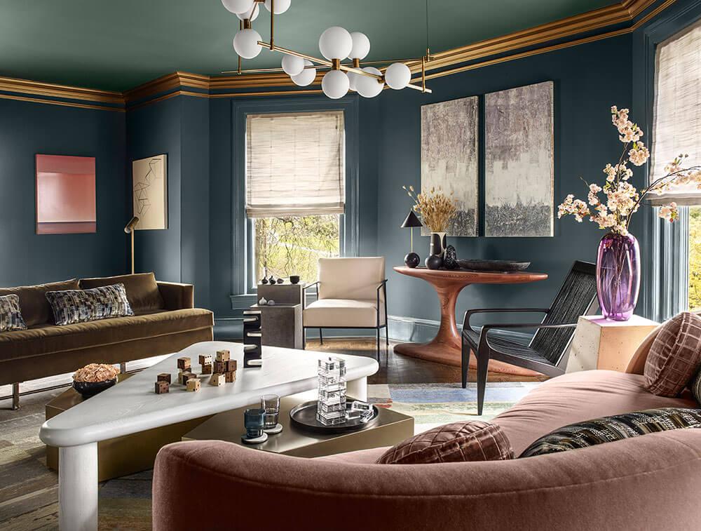 Thiết kế phòng khách tân cổ điển 6