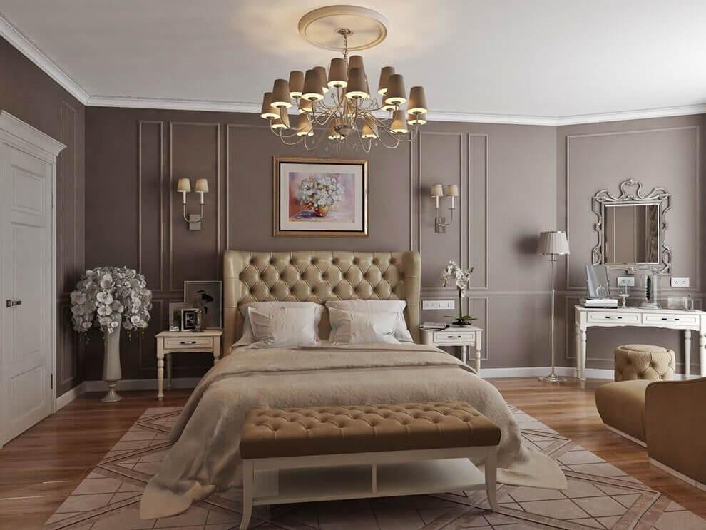 Thiết kế phòng ngủ tân cổ điển 1