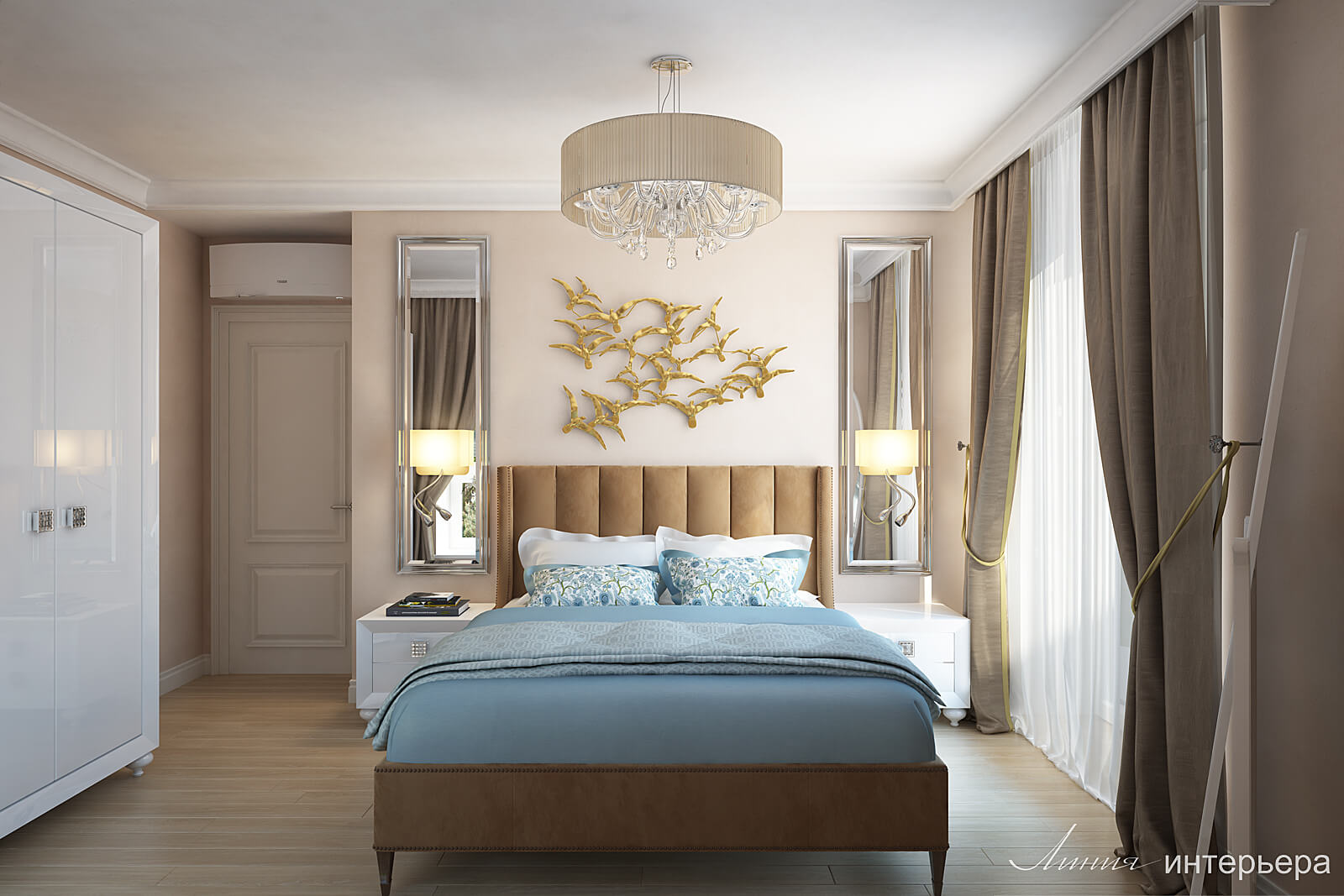 Thiết kế phòng ngủ tân cổ điển 5