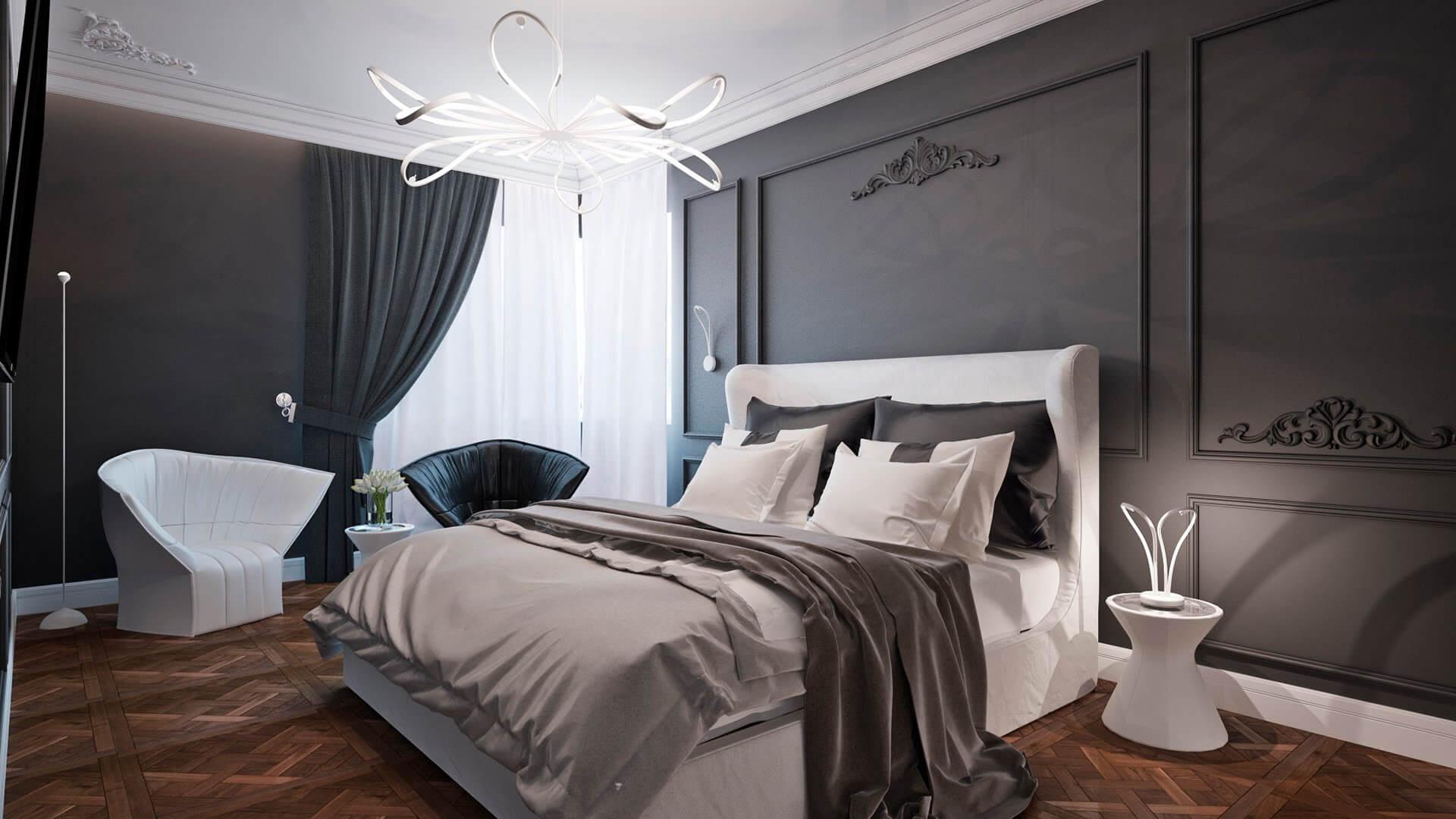 Thiết kế phòng ngủ tân cổ điển 6
