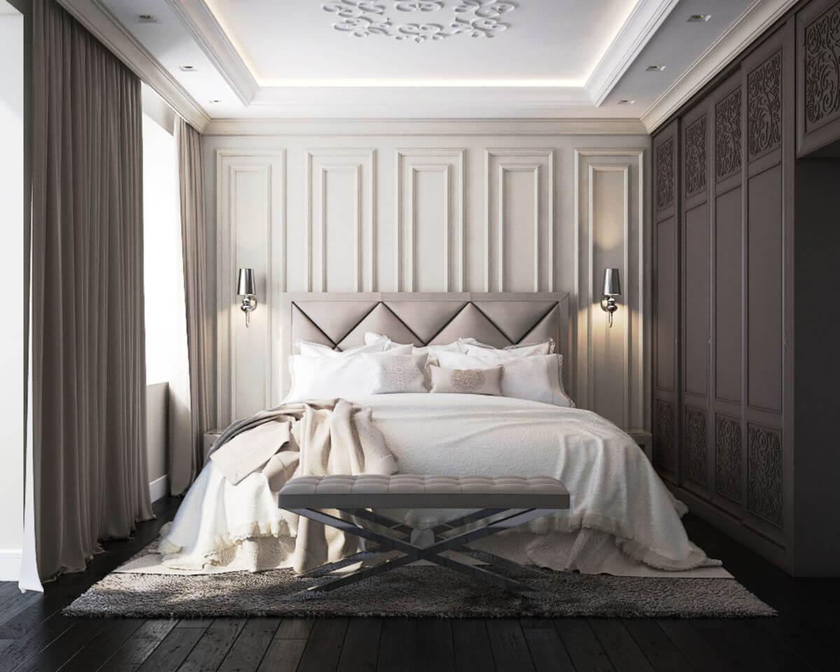 Thiết kế phòng ngủ tân cổ điển 7