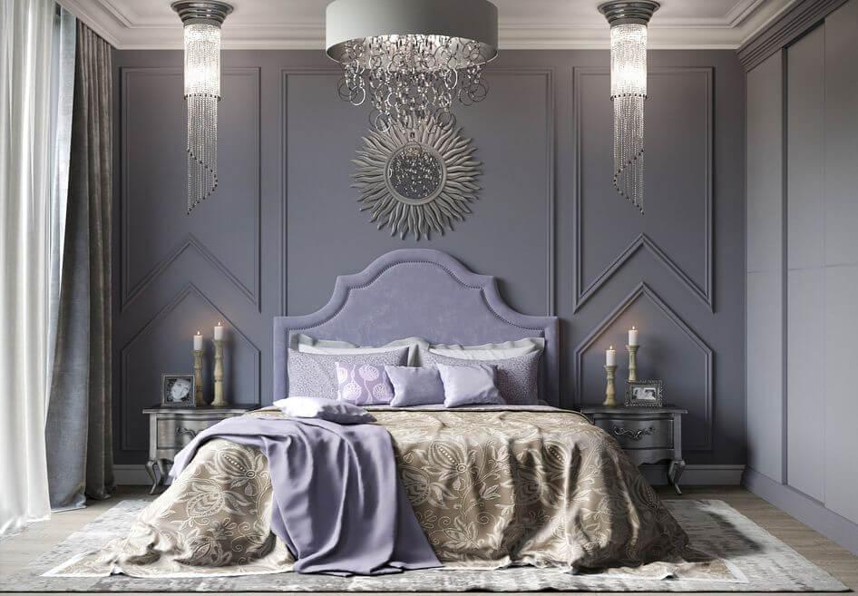 Thiết kế phòng ngủ tân cổ điển 8