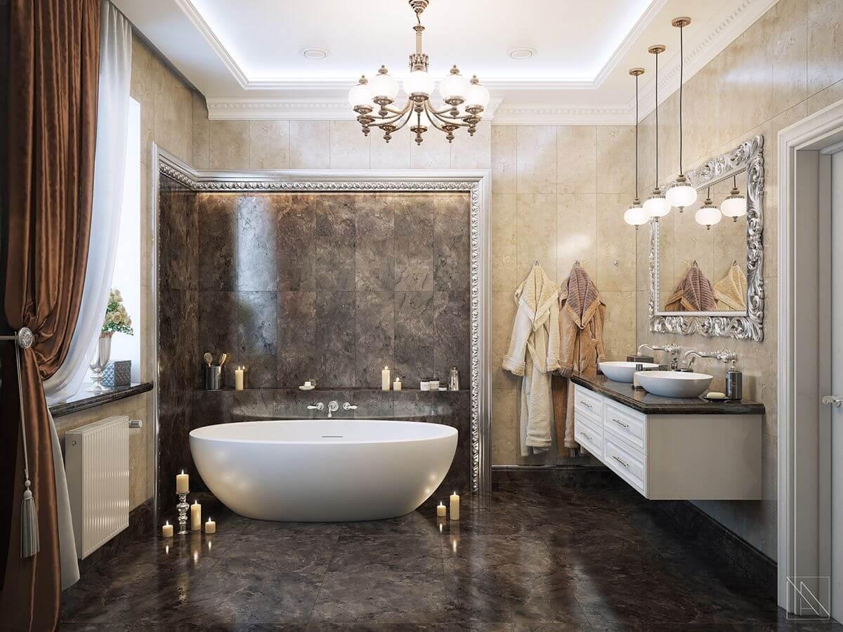 Thiết kế phòng tắm tân cổ điển 8