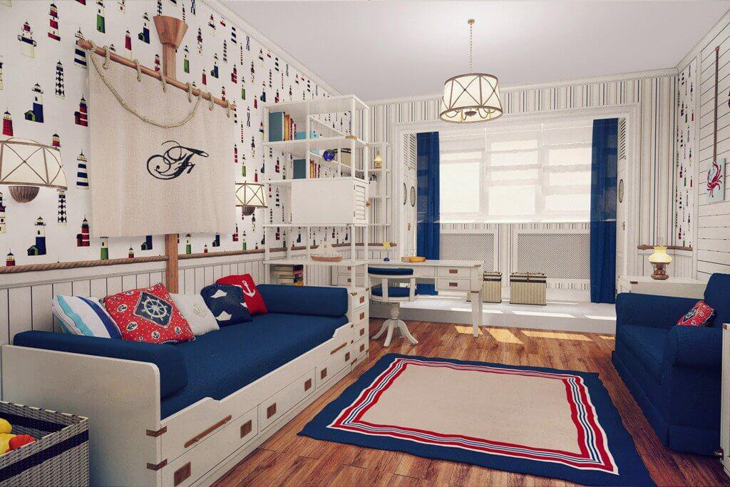 Thiết kế phòng trẻ em phong cách tân cổ điển 5