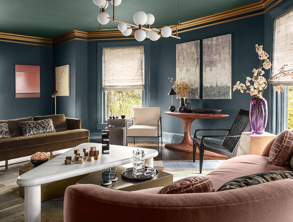 Trang trí không gian nội thất tân cổ điển