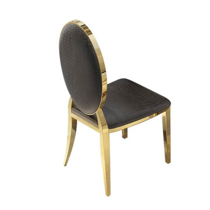 Ghế Bàn ĂnTân Cổ Điển Mạ Vàng 1