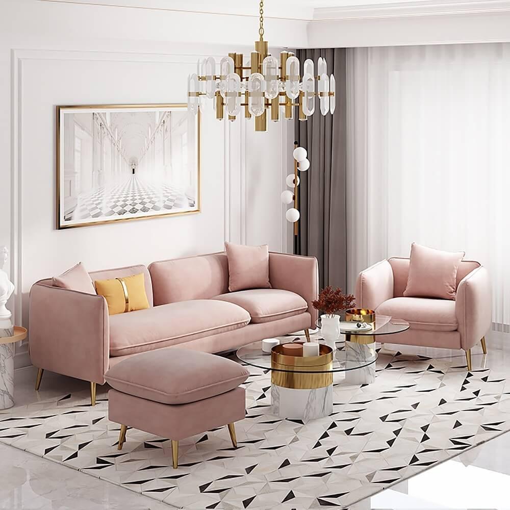 Ghế Sofa Đẹp Cho Phòng Khách Nhỏ 2
