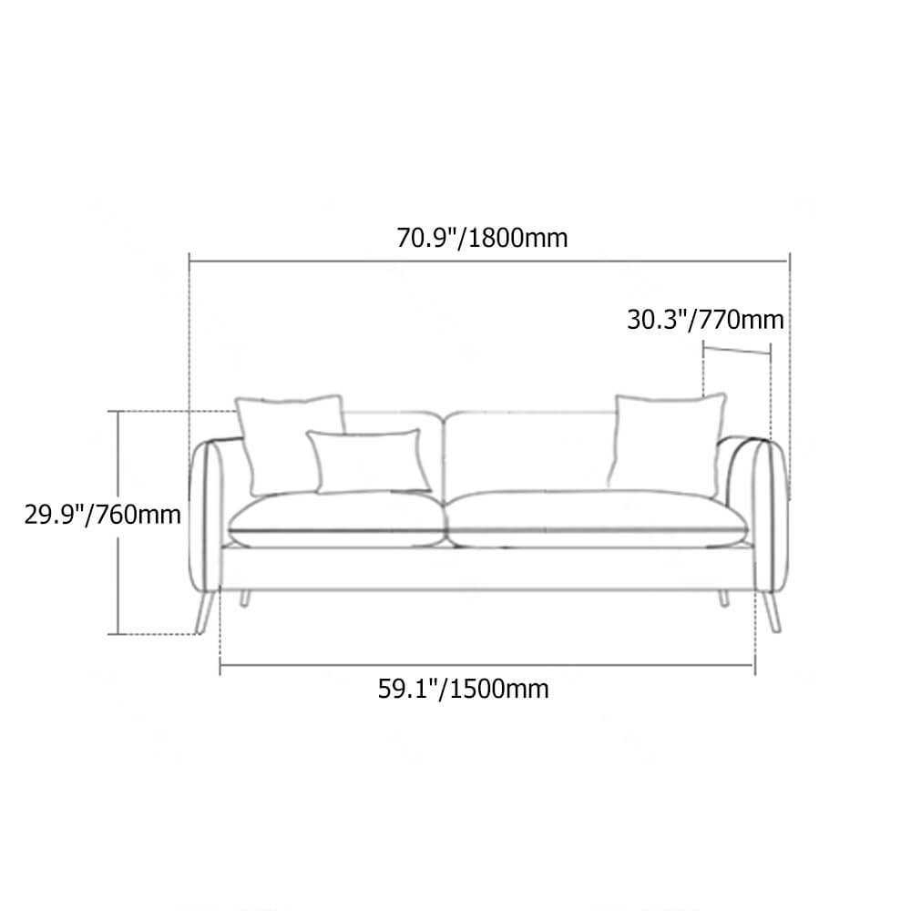 Ghế Sofa Đẹp Cho Phòng Khách Nhỏ 9