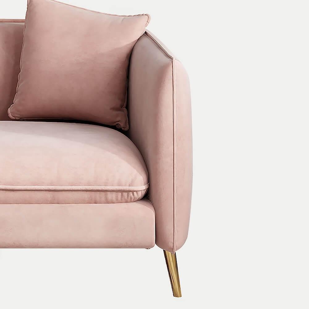 Ghế Sofa Đơn Bọc Nhung