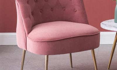 Ghế Sofa Đơn Chân Mạ Vàng 1