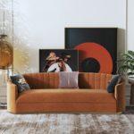 Ghế Sofa 3 Chỗ Bọc Nhung