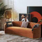 Ghế Sofa 3 Chỗ Bọc Nhung 1
