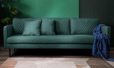 Ghế Sofa Bọc Vải Da Cao Cấp 1
