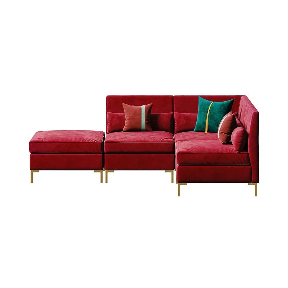 Ghế Sofa Chữ L Hiện Đại 4
