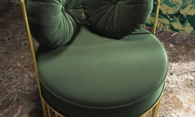 Ghế Tựa Đơn Bọc Nhung