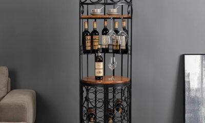Giá Trưng Bày Rượu