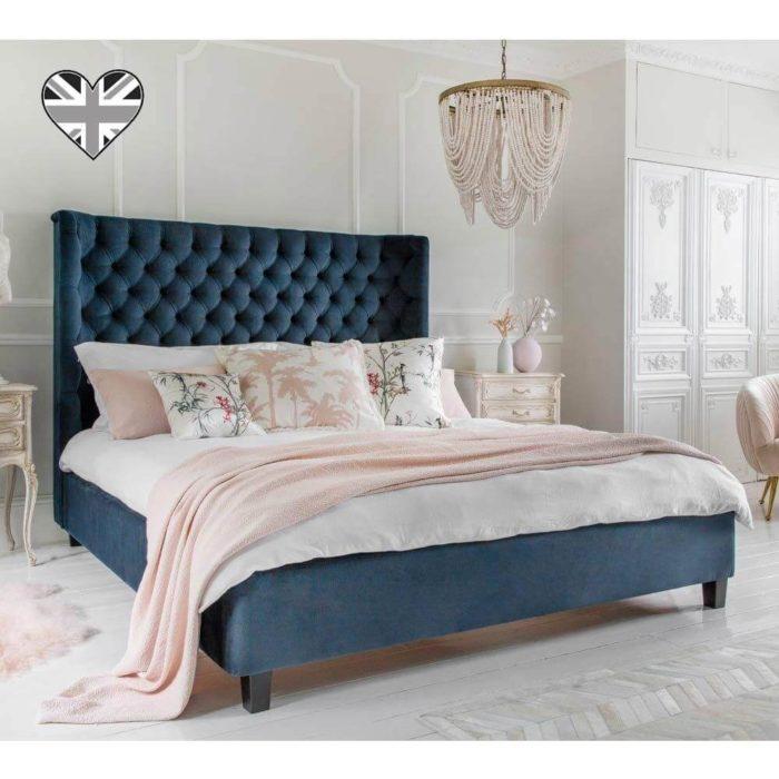 Giường Ngủ Bọc Nhung Đẹp 1