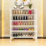 Tủ Giày Đẹp Hiện Đại Mạ Vàng 1