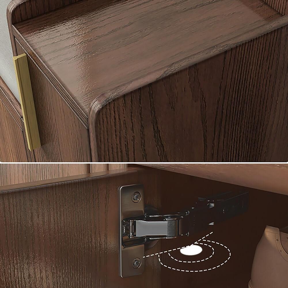 Tủ Giày Gỗ Tự Nhiên 5