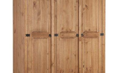 Tủ quần áo gỗ thông lớn
