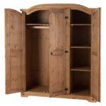 Tủ quần áo gỗ thông lớn 1