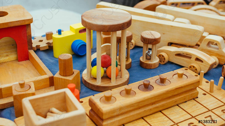 Đồ chơi xếp hình gỗ