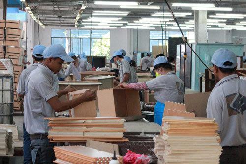 Xưởng sản xuất nội thất xuất khẩu