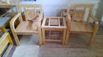 Bộ bàn 2 ghế gỗ sồi 1