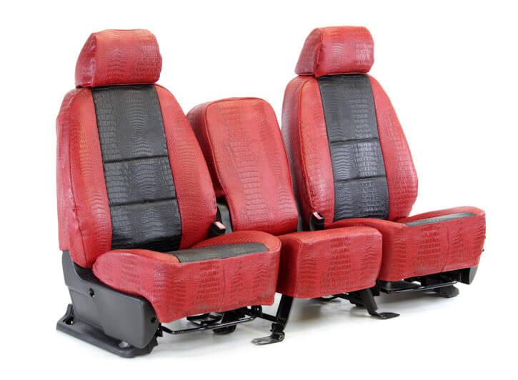 Bọc ghế xe ô tô từ da cá sấu