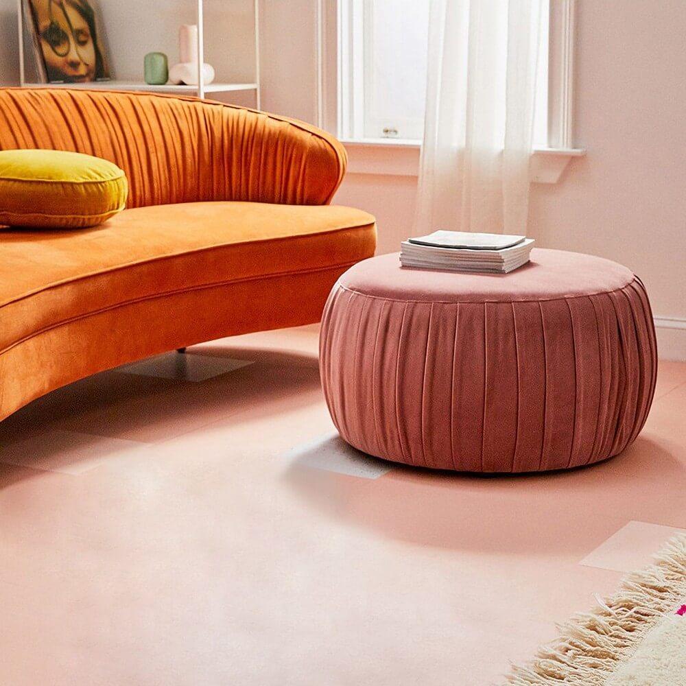 Ghế đôn nệm sofa