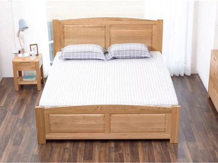Giường Ngủ Gỗ Sồi 3