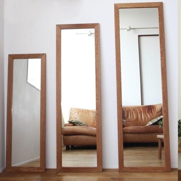 Gương soi toàn thân gỗ đứng