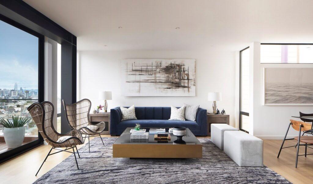 Kết hợp màu sắc căn hộ chung cư