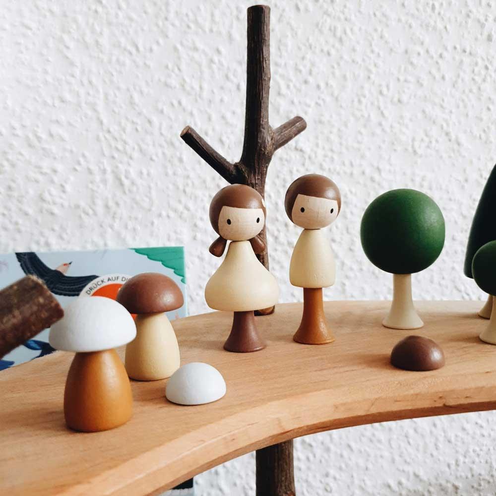 Búp bê đồ chơi gỗ