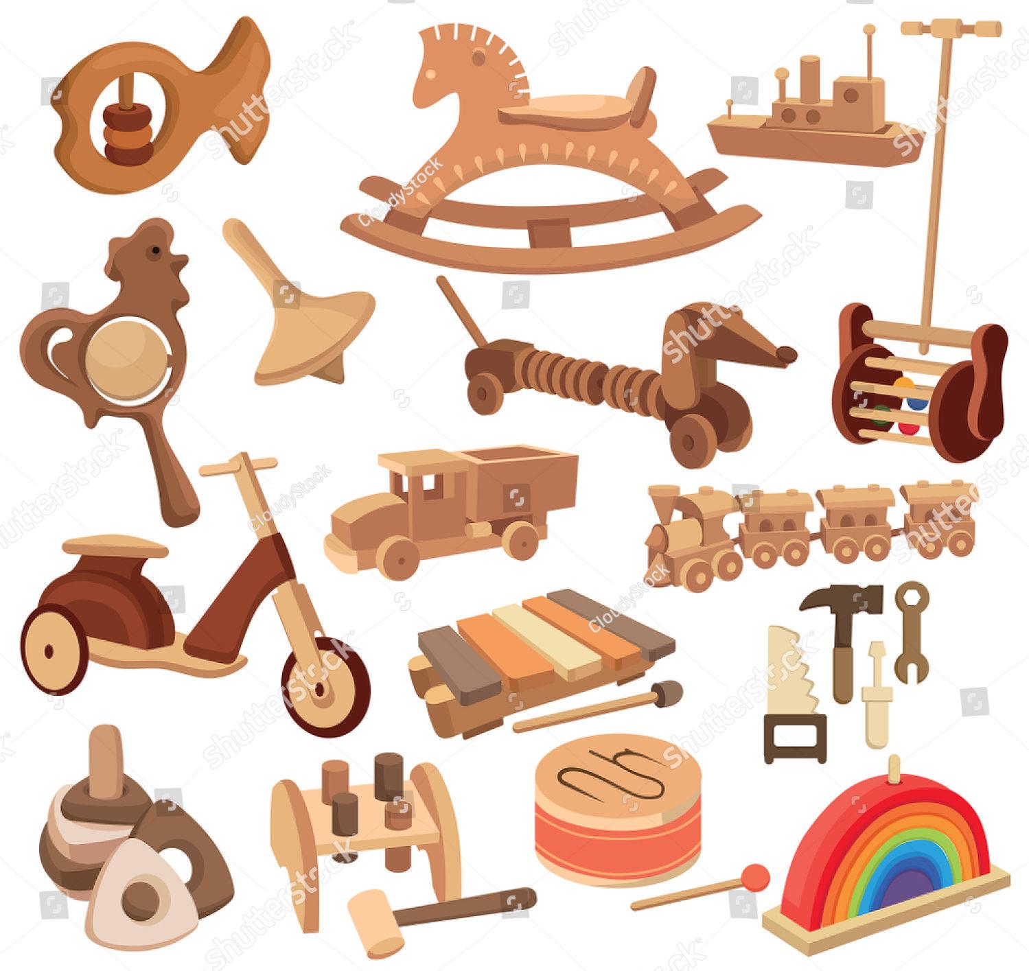 Các mẫu đồ chơi gỗ