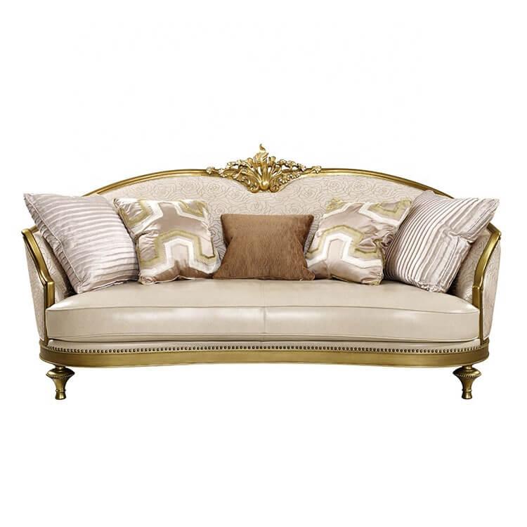 Ghế sofa mạ vàng